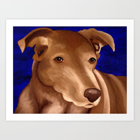 Lucky Dog Commision Art Print
