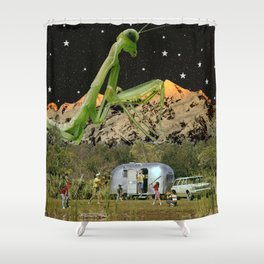 Good Old Fashioned Family Time Shower Curtain