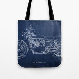 1969 triumph bonneville classic vintage motorcycle christmas gift Tote Bag
