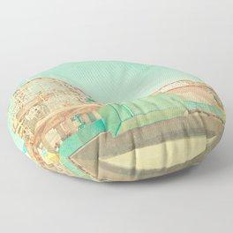 Santa Cruz Boardwalk Floor Pillow