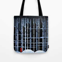 Little Red Riding-hood Tote Bag