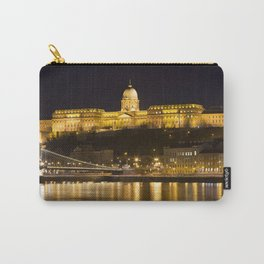 Budapest Chain Bridge And Castle Carry-All Pouch