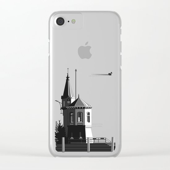 What the Duck? Clear iPhone Case