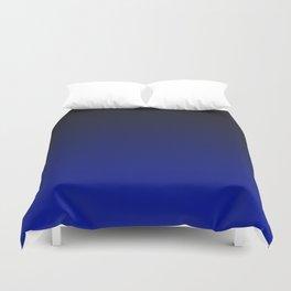 Cobalt blue Ombre Duvet Cover