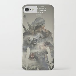 Geralt of Rivia - Witcher iPhone Case