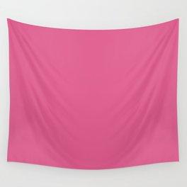 Shocking Pink Wall Tapestry