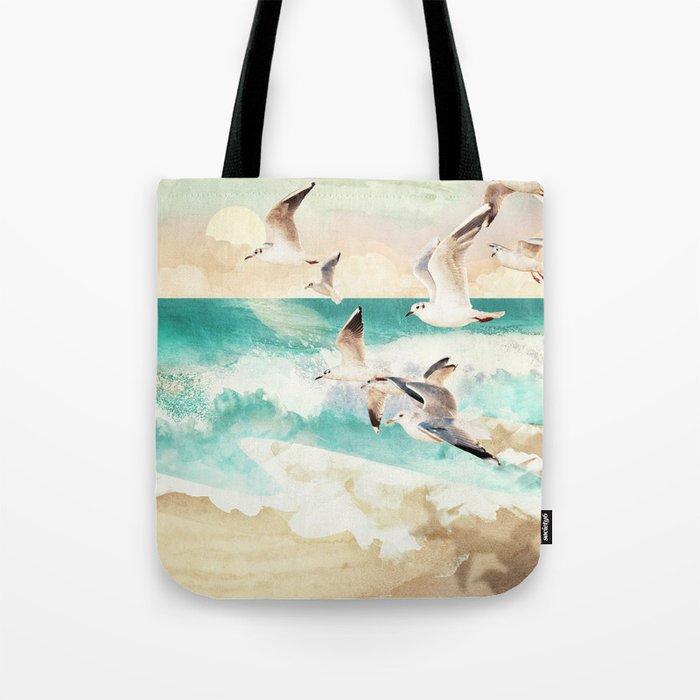 Summer Flight Tote Bag