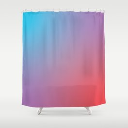 Rocket Pop Shower Curtain