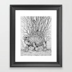 The Wandering Home Framed Art Print