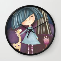 My lovely pet Wall Clock