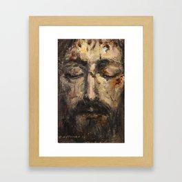 Holy Face Framed Art Print