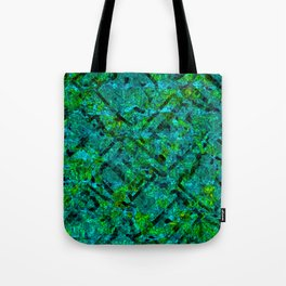 Vitrage (Turquoise) Tote Bag