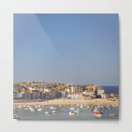 St Ives Harbour. Metal Print