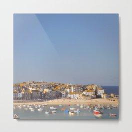 St Ives Harbour. Metal Print