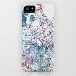 San Jose Map iPhone Case