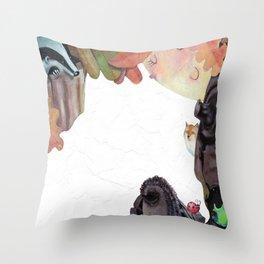 CORNICE D'AUTUNNO Throw Pillow