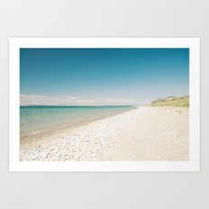 Seaside Manitou Island Art Print