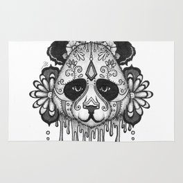 Blacksilver Panda Spirit Rug