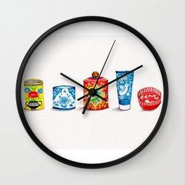 Jars Lineup Wall Clock