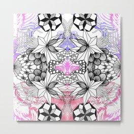 Rorshach 3 Metal Print
