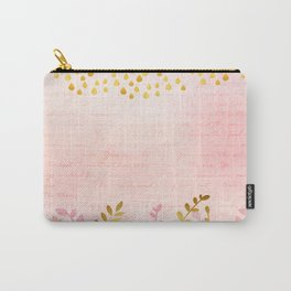 Orchid pink - golden rainforest Carry-All Pouch