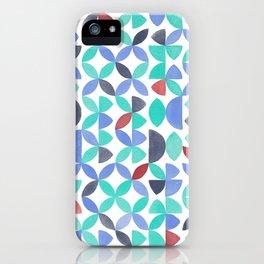 LITE GARDEN SALAD, hand-painted pattern by Frank-Joseph iPhone Case