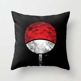 clan uchiha Throw Pillow