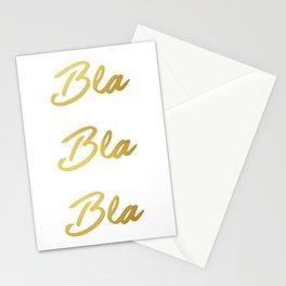 Bla Bla Bla Stationery Cards