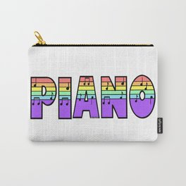 Pastel Piano Carry-All Pouch