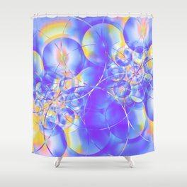 Electrons Shower Curtain