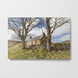 Remote Cottage Metal Print