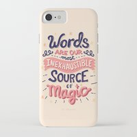 risa rodil iPhone & iPod Cases featuring Source of Magic by Risa Rodil