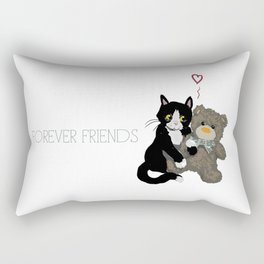 Forever Friends Rectangular Pillow
