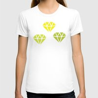 diamonds T-shirts featuring Diamonds by evannave