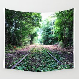 Left Behind Wall Tapestry