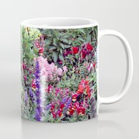 sweden Mugs featuring Sweden Flowers by Cynthia del Rio
