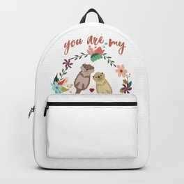 You Are My Significant Otter T-shirt Wordplay Romantic Tee Backpack