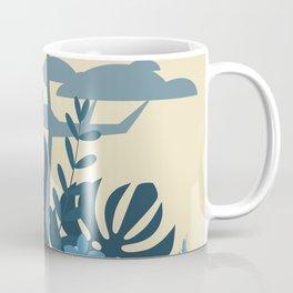 sun and cactus and trobical desert Orange boho Art sun Coffee Mug