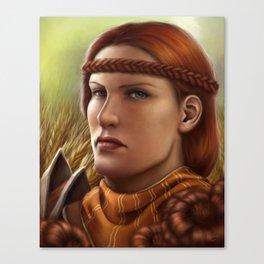 Copper Marigold Canvas Print