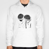 larry Hoodies featuring Larry hugging by Drawpassionn
