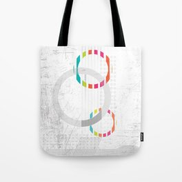 """"""" abstract time """" Tote Bag"""