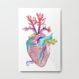 Home II: Marine Life Metal Print
