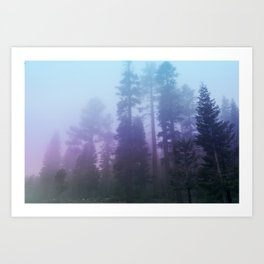 Aethereal Wilderness Art Print