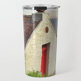 Irish cottage, Ireland Travel Mug