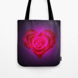 Heart of flower Tote Bag