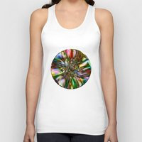 decorative Tank Tops featuring Decorative Glass by Klara Acel