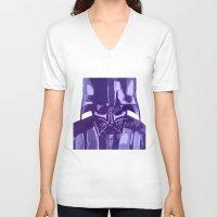 vader V-neck T-shirts featuring Vader by Eddie Frietas