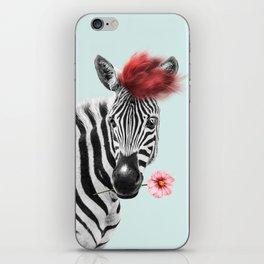 Zebra cool iPhone Skin