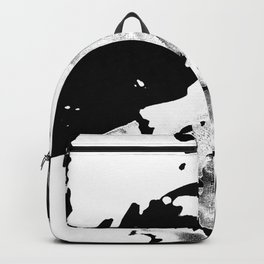 Keep Our Oceans Icy and Black and White Backpack