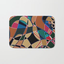 Abstraction. Curves and bends. Bath Mat